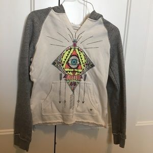 Girls size large BillaBong hoodie